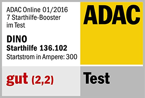 Dino KRAFTPAKET 12V-600A Starthilfegerät 66.6Wh 18000mAh