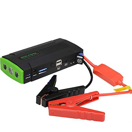 Doifck Boost HD 2000 Ampere 12V Ultrasafe Lithium Starthilfegeräte Auto Starthilfe Für Bis Zu 6L Benzin Dual USB, LED Taschenlampe