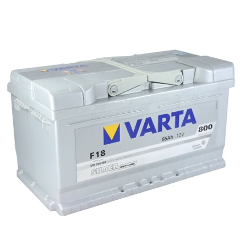 VARTA F18 Silver Dynamic / Autobatterie / Batterie 85 Ah