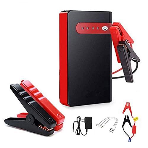 Kfz-Starthilfegerät, 12 V, 30.000 mAh, tragbare Powerbank, integrierte Taschenlampe, Autobatterie, Booster Pack, automatisches Notfall-Ladegerät