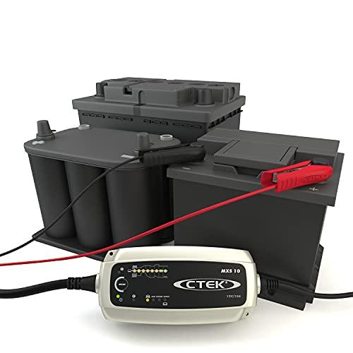 CTEK MXS 10 Multi-Funktions Batterieladegerät Mit 8-Stufentechnologie, 12V 10 Amp