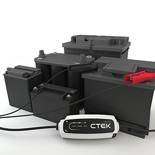 CTEK 40107 CT5 Start/Stop Intelligentes Batterielade- Und Erhaltungsgerät, Entwickelt Für Fahrzeuge Mit Start/Stopp Technologie