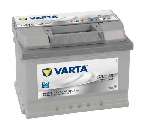 Varta D21 Autobatterie Silver Dynamic (075)