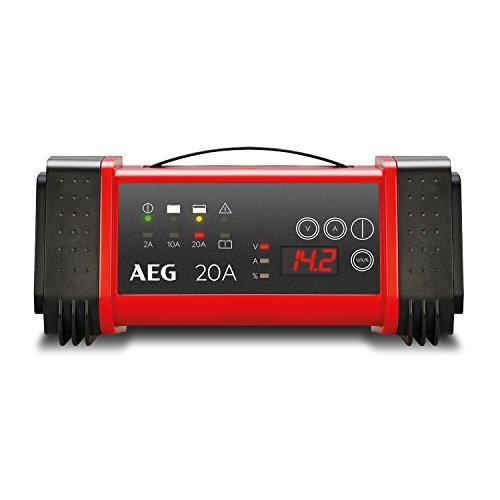 AEG 97025 Mikroprozessor Batterie Ladegerät LT 20 Ampere für 12 / 24 V, 9-stufig, Power-Supply, automatischer Temperaturausgleich
