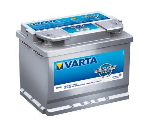 Varta Start-Stop Silver Dynamic AGM 560 901 068 D52 12V 60Ah 680A/EN Starterbatterie