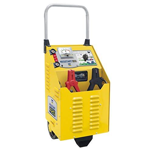 GYS NEOSTART 420 Batterieladegerät, Traditionelles fahrbares Lade- und Starthilfegerät für 12 und 24V