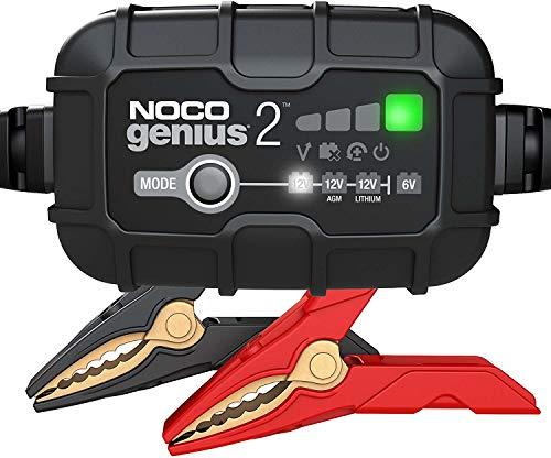 Noco Genius batterieladegerät Genius26/12V 2A 14 x 9 cm schwarz