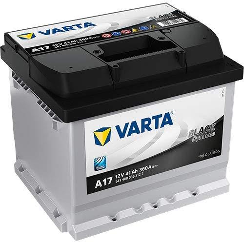 Type 007 Varta Black Dynamic Autobatterie 12V 40Ah (Short Code: A17) (Varta DIN: 540 200 036 or 541 400 036)